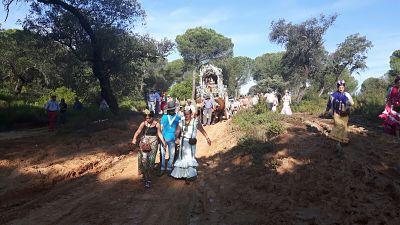 peregrinacion reunion carriolas alcaldia de carretas sevillasur